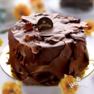 Torta De Arequipe Y Chocolate